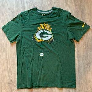 Nike Green Bay Packers Short Sleeve T-Shirt XL